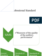 Professional Standard - Auditing Theory