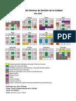 Calendario SGC SIRSA