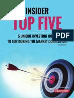 Top-5-Insider-Stock