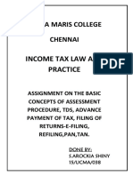 Income Tax Assignment