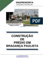 Construção de Prédio Em Bragança Paulista