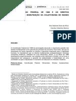 2_n23_A CONSTITUIÇAO FEDERAL DE 1988 E OS DIREITOS FUNDAMENTAIS