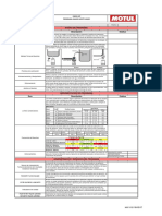 Check List Programa Análisis Aceite Usado