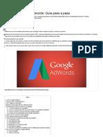 Cómo usar Google Adwords - Guía paso a paso