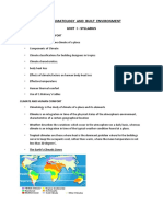 CLIMATE FULL NOTES