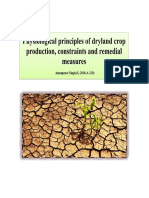 Physiological principles of dryland crop production