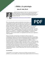 John Stoll - La Biblia y la Psicología