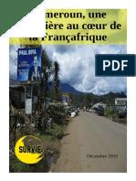 Dossier Survie - Cameroun Une Poudriere Au Coeur de La Francafrique - Decembre 2019