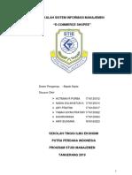 Makalah Sistem Informasi Manajemen Pada Shoope
