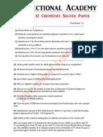 Chemistry 2019  Solved Paper set 2