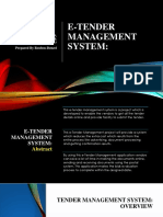 TENDER MANAGEMENT SYSTEM- DZ PPT