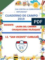 CARATULA CUADERNO DE CAMPO