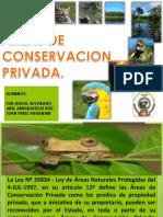 Areas de Conservacion Privada Unap Anp