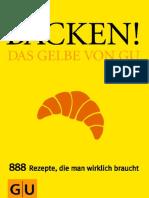 Backen - Das Gelbe Von GU