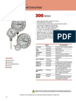 300 Series Bimetal Thermometers