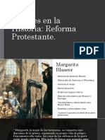 Mujeres en La Historia de La Iglesia.