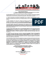 17dic2019 - Comité Central – Sobre La Consulta Ciudadana y La Comisión Mixta