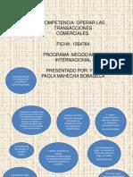 CLAUSULAS DE LA CAMARA DE COMERCIO INTERNACIONAL PRESENTACION FINAL