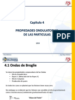 CAPITULO 4 PROPIEDADES ONDULATORIAS DE LAS PARTICULAS