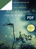 Delia Owens - Ahol a Folyami Rakok Enekelnek