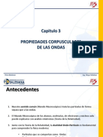 CAPITULO 3 PROPIEDADES CORPUSCULARES DE LAS ONDAS(1)
