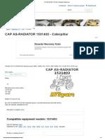 CAP AS-RADIATOR 1531403 - Caterpillar _ AVSpare.com