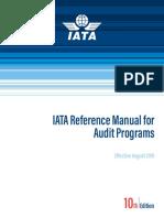 IATA Reference Manual for Audit Programs (IRM)  Ed 10 - September 2019