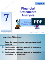 Topic 7 A181- Financial Statement  Analysis