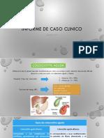 caso clinico colescistitis
