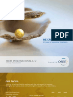 OSIM International Annual Reoprt 2009