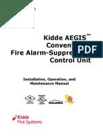 06-236716-001_Kidde AEGIS Conventional Fire Alarm-Suppression Control Unit IOM Manual_AE