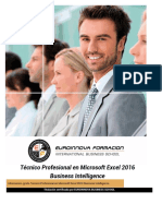 Tecnico Microsoft Excel Business Intelligence Online