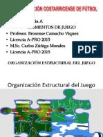 Organización y Estructura Del Juego Fútbol