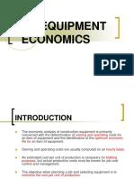 Equipment Economics (2)