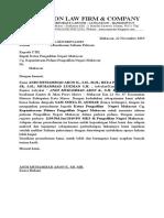 permohonan salinan putusan PN Makassar