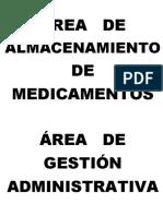 areas de farmacia