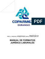Manual Formatos Juridicos Coparmex