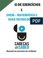 matemática e suas tecnologias