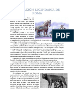 LEYENDA FUNDACIÓN ROMA