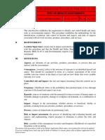 Risk Impact Assessments