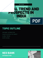 Neo Banks- Global Trends and Scope in india