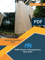 FORE_School_of_Management_Admissions_Brochure