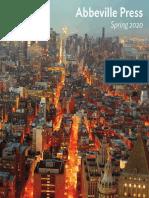 Abbeville Press SPRING 2020 Catalog