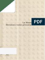 Jauss Hans Robert - La Historia De La Literatura Como Provocacion.pdf