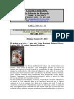 Catalogo libros 2011