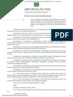 PORTARIA Nº 2.979, DE 12 DE NOVEMBRO DE 2019 - PORTARIA Nº 2.979, DE 12 DE NOVEMBRO DE 2019 - DOU - Imprensa Nacional.pdf