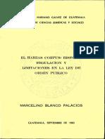tesis sobre habeas corpus