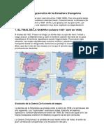 Características generales de la dictadura franquista