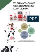 Productos Farmacológicos Más Usados en Ganadería Vacuna Lechera 1