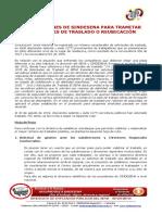 03orientaciones de Sindesena Para Solicitudes de Trabajadores de Traslado o Reubicación